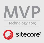 Sitecore Technology 2015 MVP