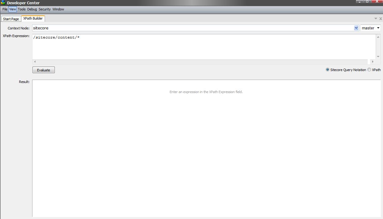 sitecore query sitecore sandbox