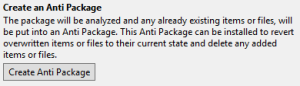 Anti Package Information