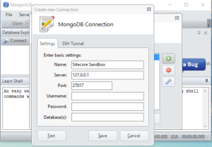 Add Connection In MongoVUE