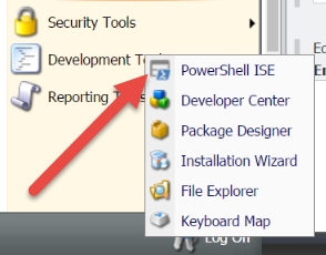 PowerShell ISE In Sitecore Desktop Development Tools