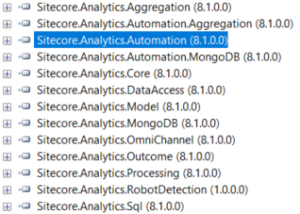 Sitecore 8.1 Analytics