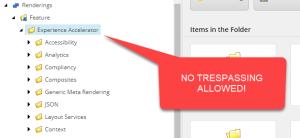 Experience Accelerator Folders