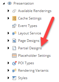 Partial Designs Folder