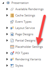 Placeholder Settings Folder